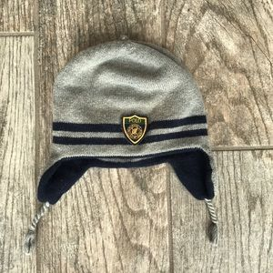 Reversible RL baby winter hat